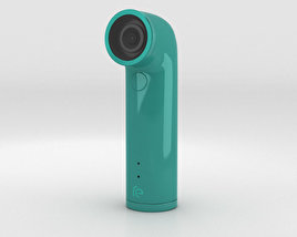 3D model of HTC Re Camera Green