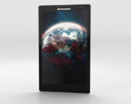 3D model of Lenovo Tab S8 White