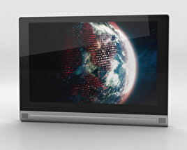 3D model of Lenovo Yoga Tablet 2 10-inch Platinum