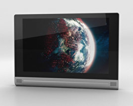 3D model of Lenovo Yoga Tablet 2 8-inch Platinum