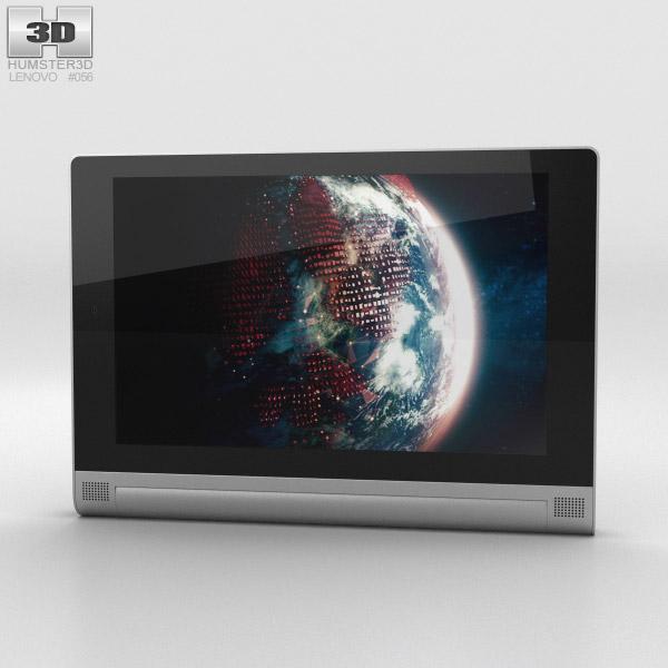 Lenovo Yoga Tablet 2 8-inch Platinum 3D model