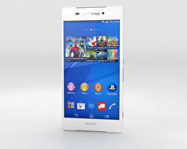 Sony Xperia Z3v White 3D model