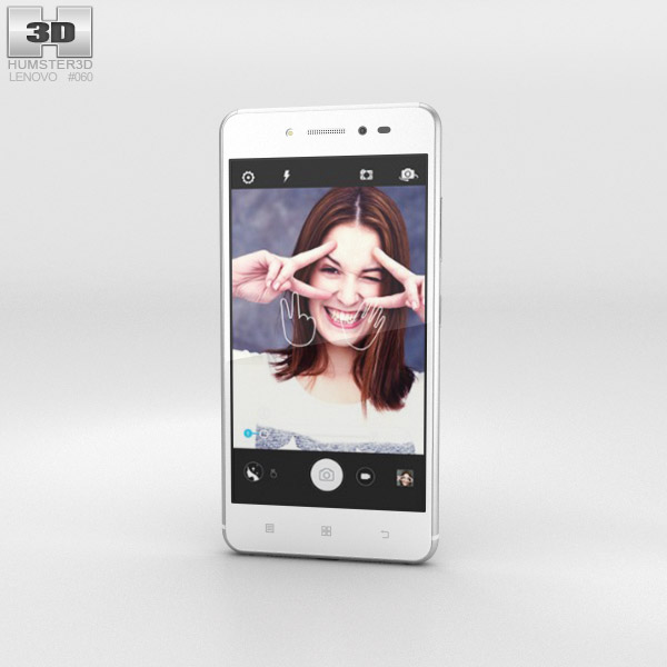 3D model of Lenovo Sisley White
