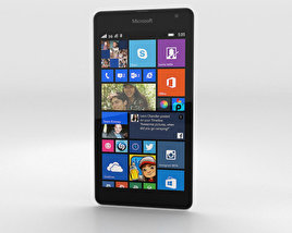 3D model of Microsoft Lumia 535 White