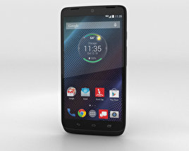 3D model of Motorola Droid Turbo Black Ballistic Nylon