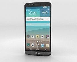 3D model of LG G3 A Titanium