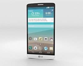 3D model of LG G3 A White
