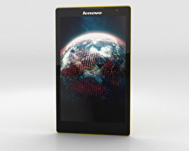 3D model of Lenovo Tab S8 Canary Yellow