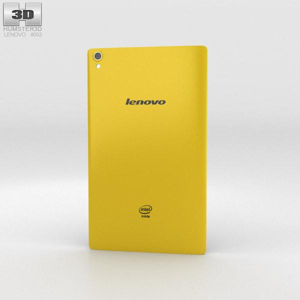 Lenovo Tab S8 Canary Yellow 3d model