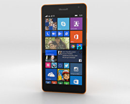 3D model of Microsoft Lumia 535 Orange