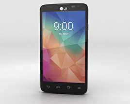 3D model of LG L60 Black
