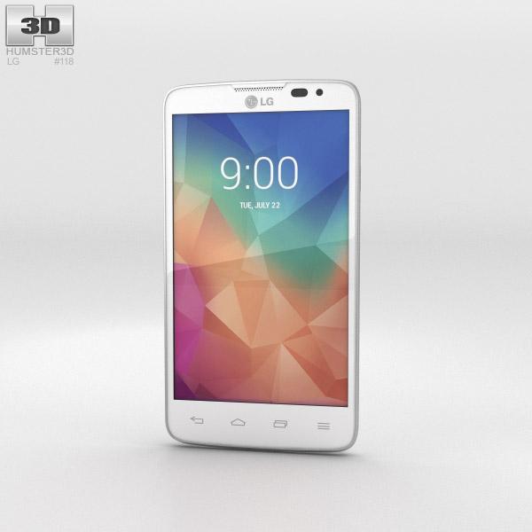 3D model of LG L60 White