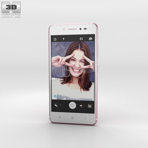 3D model of Lenovo Sisley Pink