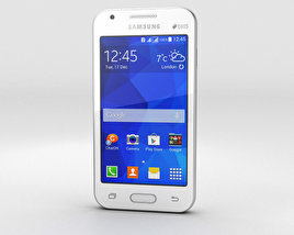 3D model of Samsung Galaxy V White