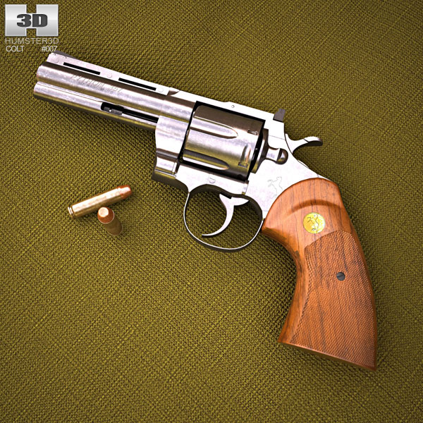 3D model of Colt Python