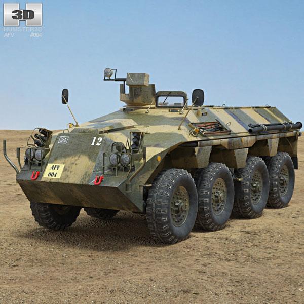 DAF YP-408 3D model