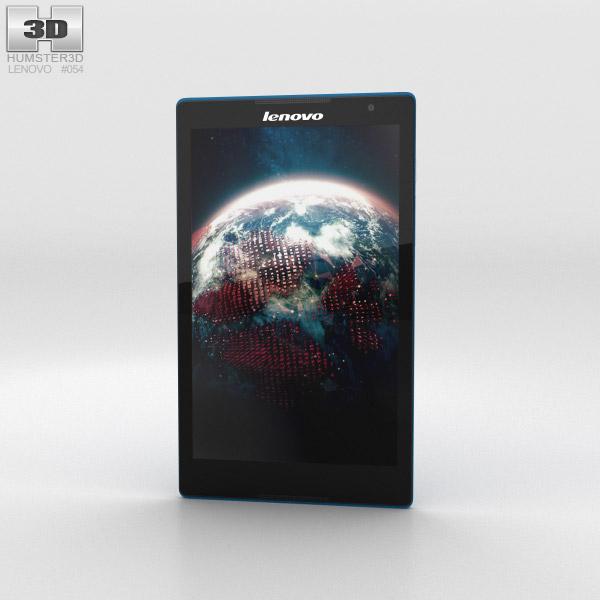 3D model of Lenovo Tab S8 Blue