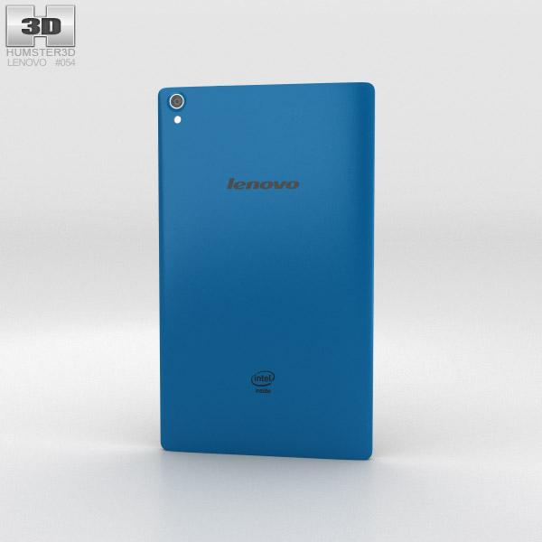 Lenovo Tab S8 Blue 3d model