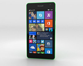 3D model of Microsoft Lumia 535 Green