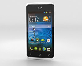 3D model of Acer Liquid Z200 Essential White
