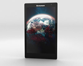 3D model of Lenovo Tab S8 Ebony