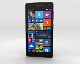 3D model of Microsoft Lumia 535 Gray