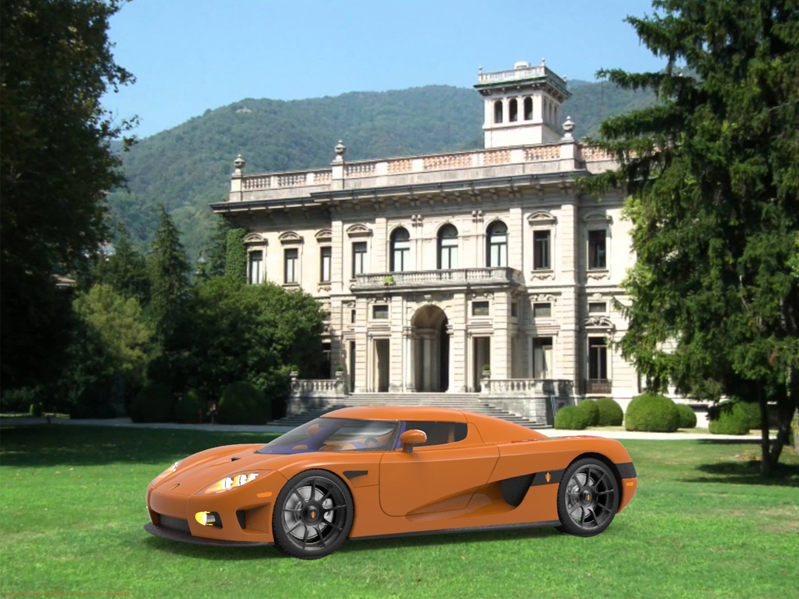 My motivation to become a car designer 3d art