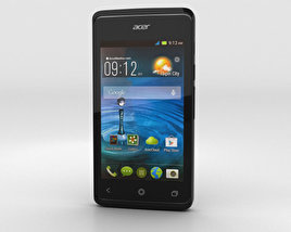 3D model of Acer Liquid Z200 Titanium Black