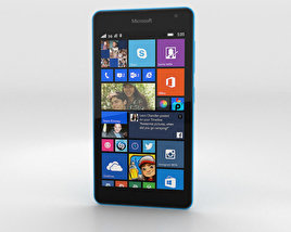 Microsoft Lumia 535 Blue 3D model
