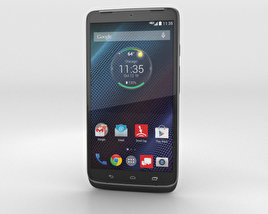 3D model of Motorola Droid Turbo Metallic Black