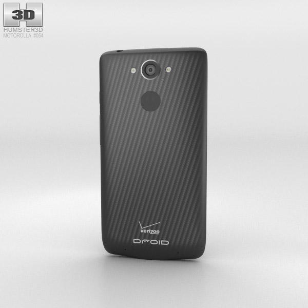 Motorola Droid Turbo Metallic Black 3d model
