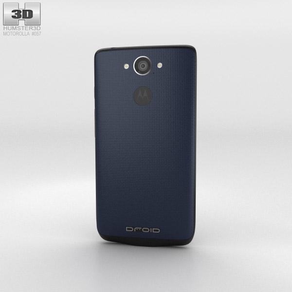 Motorola Droid Turbo Blue Modelo 3D