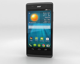 3D model of Acer Liquid Z500 Titanium Black