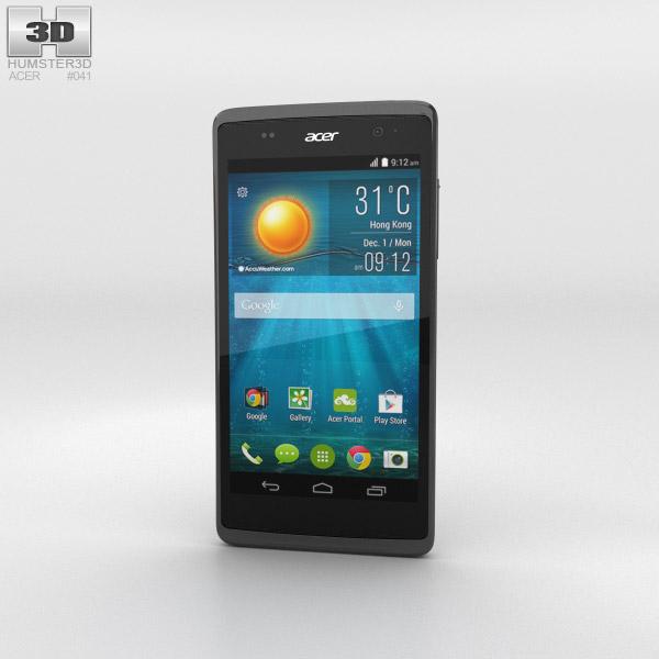 Acer Liquid Z500 Titanium Black 3D model