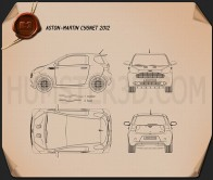 Aston Martin Cygnet 2012 Blueprint
