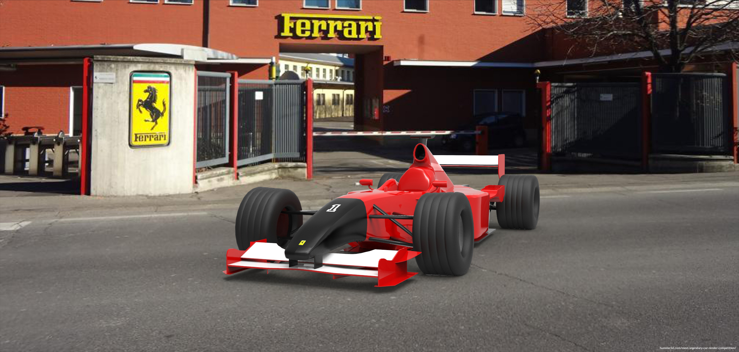 F1 Passion 3d art