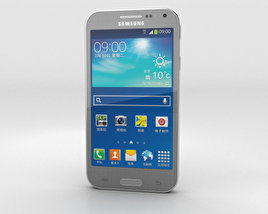 3D model of Samsung Galaxy Beam 2 Gray Silver