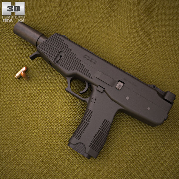 3D model of Steyr SPP