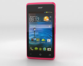3D model of Acer Liquid Z200 Fragrant Pink