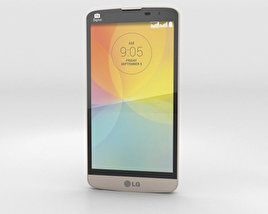 3D model of LG L Prime Gold