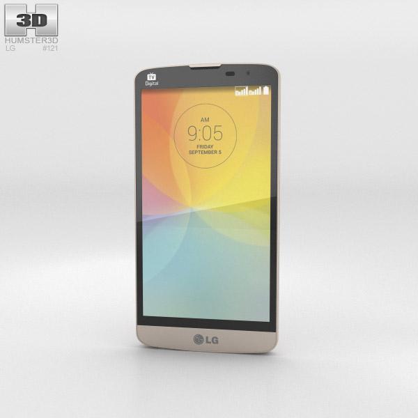 3D model of LG L Prime Gold