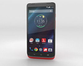 3D model of Motorola Droid Turbo Metallic Red