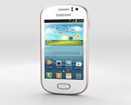 Samsung Galaxy Fame White 3D model