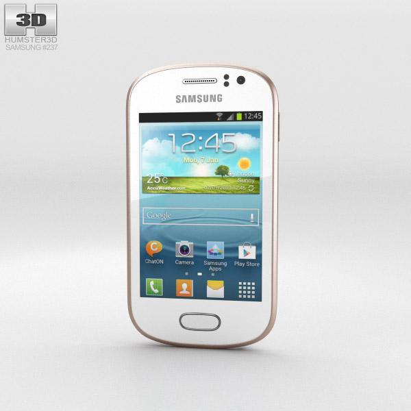 Samsung Galaxy Fame White 3d model
