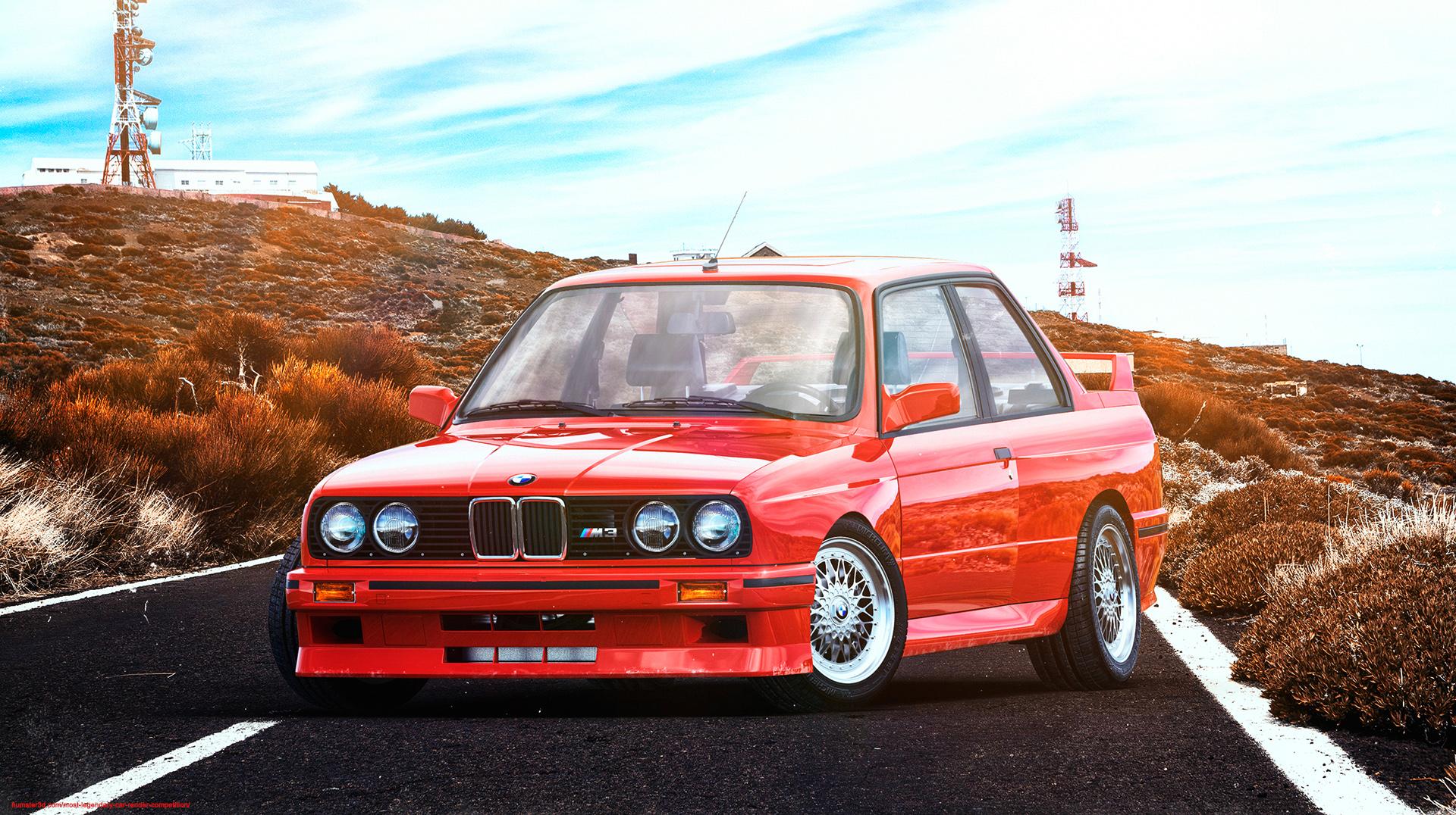 BMW M3 E30 3d art