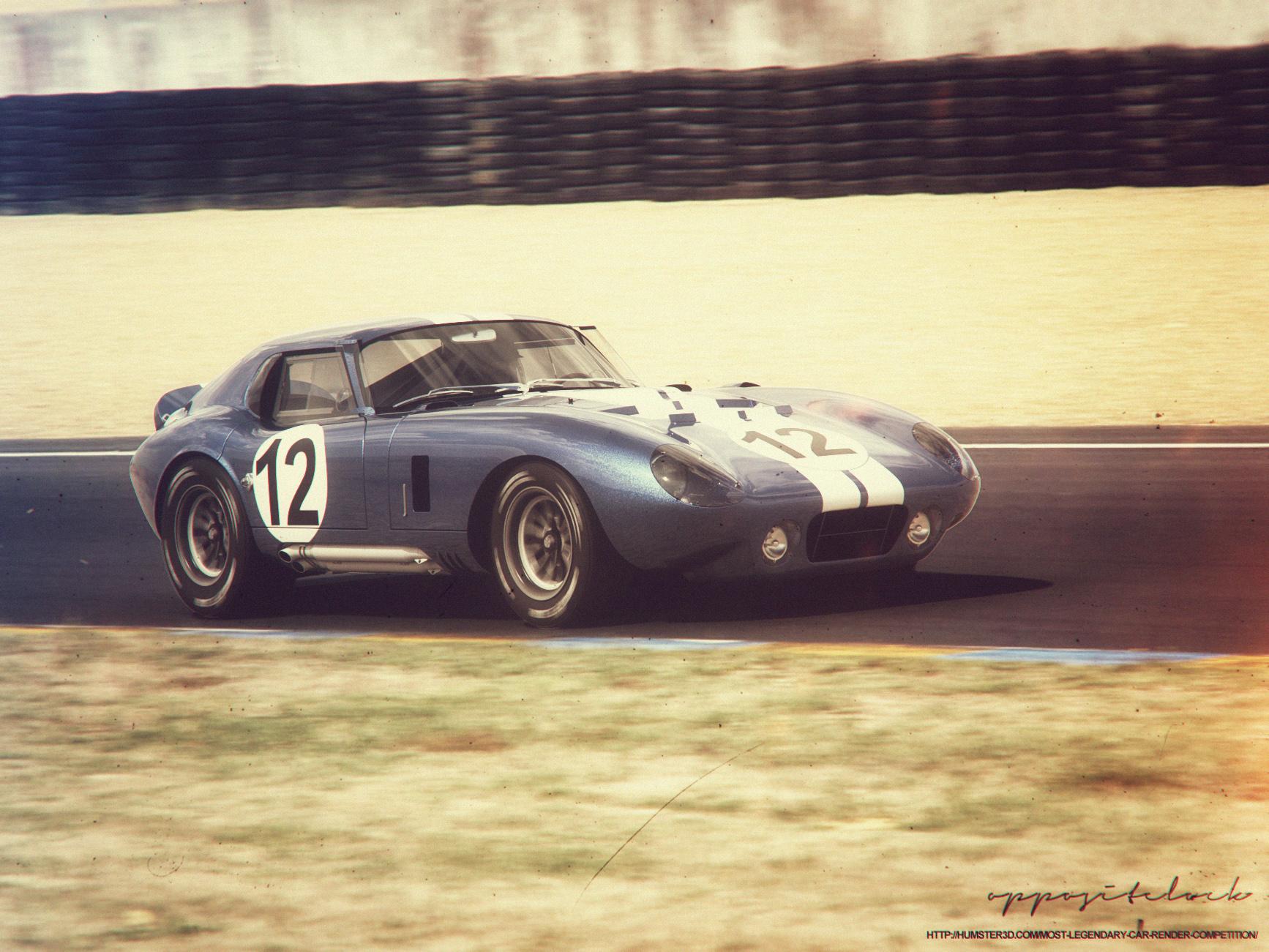 1965 Shelby Daytona Coupe 3d art