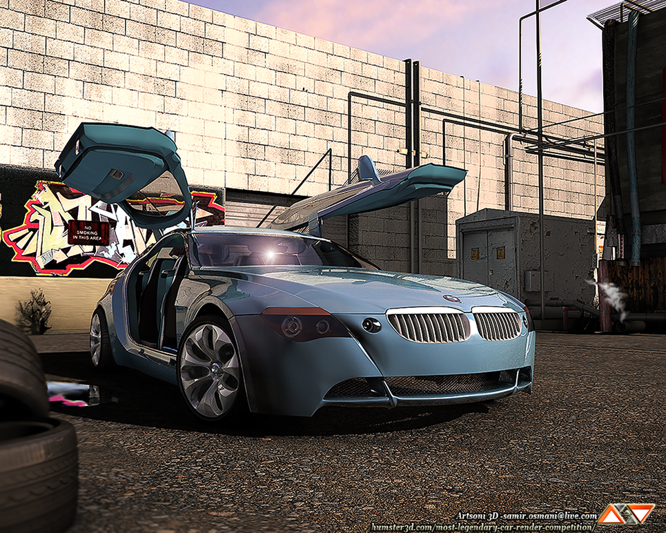 The Z9 Gran Turismo 3d art