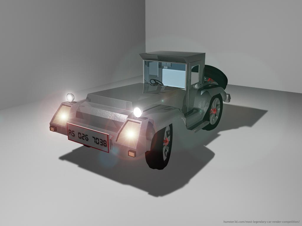 My Vintage X Car 3d art