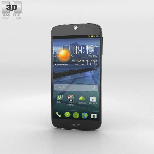 Acer Liquid Jade Black 3D model