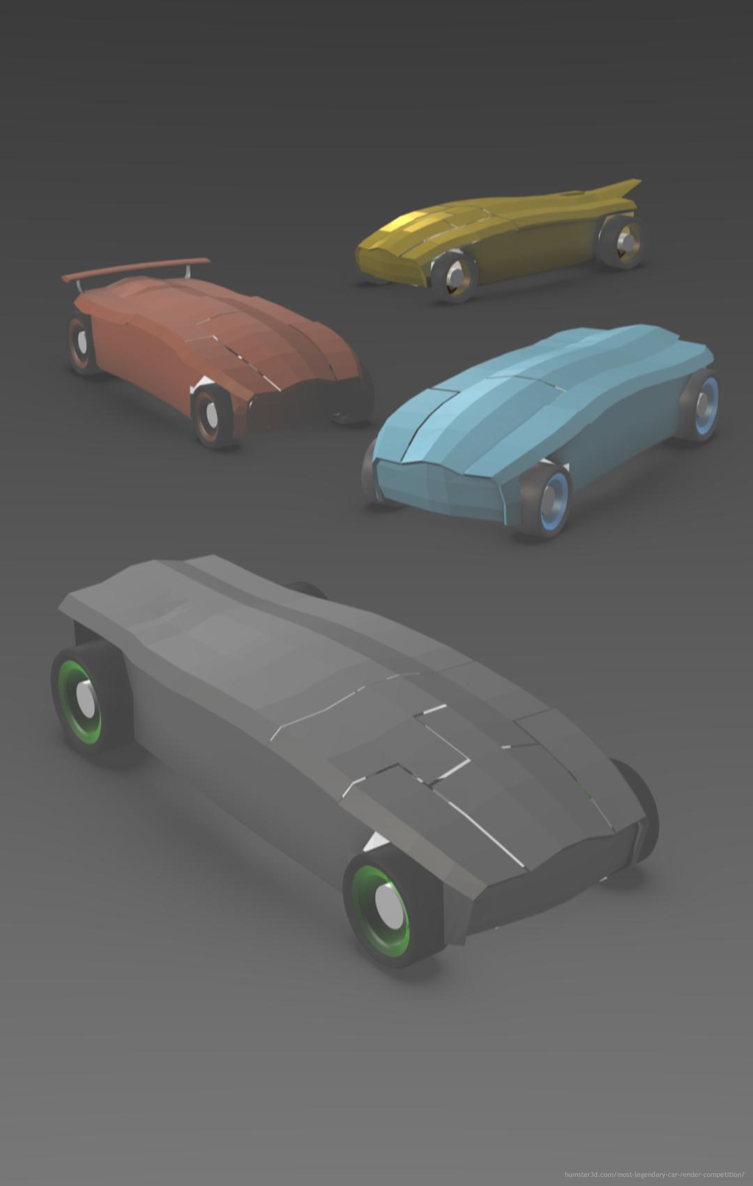 ENDGAME Vehicles 3d art